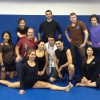 'LADY BLOODSPORT' TRAINS AT KOWLOON JIUJITSU!