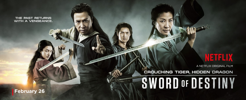 Crouching Tiger, Hidden Dragon: Sword of Destiny – B&E Productions